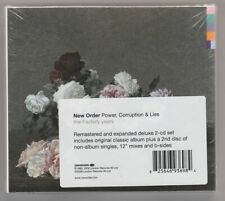 NEW ORDER - POWER, CORRUPTION & LIES - 2 x CD, REMASTERED, REISSUE, NOWA, FOLIA