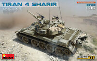 Miniart 1:35 Tiran 4 Sharir Late Type With Interior Medium Tank Model Kit