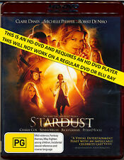 STARDUST  Claire Danes  Michelle Pfeiffer   HD DVD  Flat Rate Tracked Post