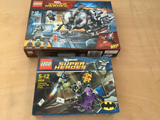 LEGO 2 X SETS Marvel Ant Man & the Wasp 76109 & Catwoman Catcycle 6858 new seale