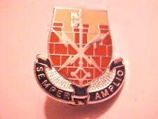 US Military Spec Troops BAT 34th IN DIV DI Pin Clutchback Crest Medal Badge G618
