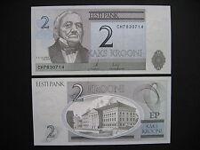 ESTONIA  2 Krooni 2007  (P85b)  UNC
