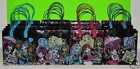12 PC MONSTER HIGH PARTY FAVORS GIFTBAG GOODY CANDY BAG FAVORS PARTY BAGS GOTHIC