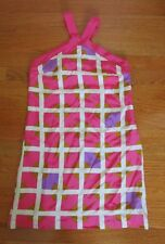 TIbi Silk Mini Shift Geometric Polka Dot Dress SIZE 0 lined short tunic side zip