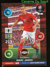 141 MARC JANKO AUSTRIA CARTE CARD ADRENALYN ROAD TO UEFA EURO 2016 PANINI O