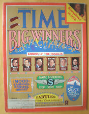 Time Magazine November 20, 1978- Big Winners- Adding Up The Results