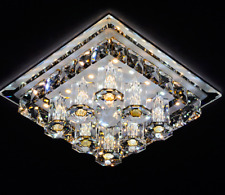 Modern LED Crystal Ceiling Light Fixtures Lighting Chandelier Light Pendant Lamp