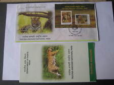 India 2016 Miniature Sheet FDC on Tadoba Tiger National Park -Limited Edition