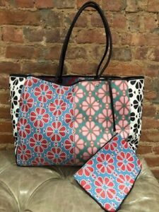 Authentic Kate Spade EVERYTHING SPADE Flower Large Tote Bag / Pouch