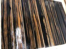 GOLDEN Ebony Griffbretter | Fingerboards | Tonholz | Tonewood | 530 x 75 x 9 mm