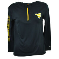 NCAA Colosseum West Virginia Mountaineers Youth Navy Blue Sweater Hoodie Zipper