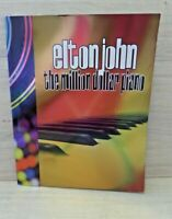 ELTON JOHN THE MILLION DOLLAR PIANO TOUR PROGRAM BOOK OFFICIAL MERCHANDISE