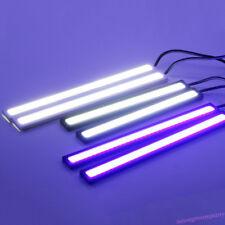 2X Car Daytime Running Light Auto COB LED DC DRL Driving Fog Lamp Strip Bar Hot!