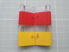 LEGO 801 802 Door 1x3x3 Left & Right with Window and Vertical Handle x1 Pair