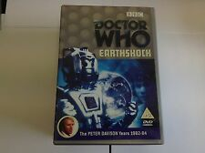 Doctor Who - Earthshock  DVD Peter Davison, Janet Fielding, Sarah Sutton, Matthe