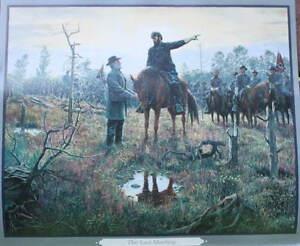 """The Last Meeting"" Mort Kunstler Civil War"