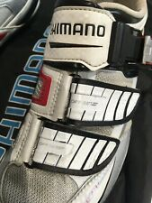 Shimano SH R 240 carbon sole ratchet custom fit mouldable road cycling shoes 38