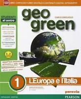 geo green vol.1 PARAVIA Pearson scuola, Carlo Griguolo, codice:9788839523907