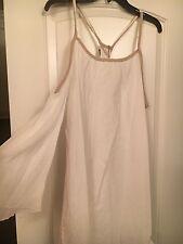 Union of Angels Boho Dress! Org: $109 Size: Large Cold Shoulder