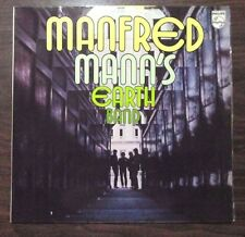 MANFRED MANN'S EARTH BAND - RARE SELF TITLED 1972 OZ LP - PHILIPS - PROG / PSYCH