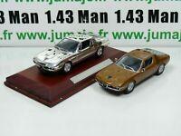 lot 2 VOITURES 1/43 IXO : ALFA ROMEO Montreal coupé et Silver-cars