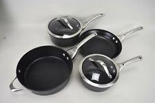 Calphalon Pan Pot Saucepan Skillet #1390 #8701 #8702 #5003 Set of 4