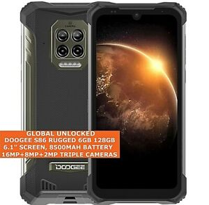 """DOOGEE S86 RUGGED 6gb 128gb Octa Core Waterproof 6.1"""" Face Id Android 10 LTE NFC"""