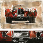 """36W""""x24H"""" VINTAGE RED by MARTA WILEY - ANTIQUE OLD VEHICLE RUBINE CAR CANVAS"""