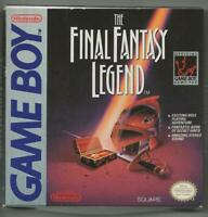 ORIGINAL Vintage 1990 Game Boy Final Fantasy Legend CIB w/ Manual + Map