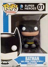 "BATMAN DC Comics Super Heroes Pop Heroes 4"" inch Vinyl Figure #1 Funko 2011"