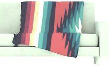 Kess InHouse Designs Super Soft Fleece Throw Blanket, 60 x 50, Retails $79