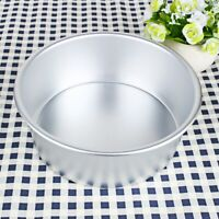 4-9inch Aluminum Round Cake Cupcake Baking Mold Tin Pan Kitchen Bakeware Kit