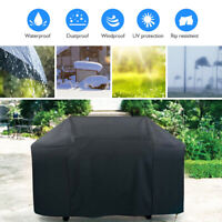 "BBQ Gas Grill Cover 57"" Waterproof Outdoor Heavy Duty UV Gas Charcoal Protection"