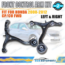 For Honda Accord Cp / Euro Cu FWD Control Arms Front Lower 2/08~2/13 L&R 1Set
