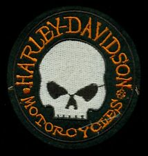 Harley-Davidson Motorcycles Skull Patch P-2