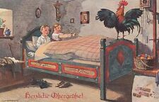 72351- Künstler Ak Sucholdolski  T.S.N. Serie 1536 Herzliche Ostergrüße 1917