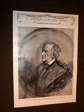 Stampa del 1913 Per centenario di Wilhelm Richard Wagner Studio di F.von Lembach