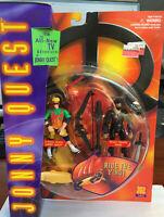 VTG GALOOB 1996 JONNY QUEST X-TREME ACTION & DESERT STEALTH HADJI NEW MOSC MOC
