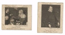 Ardath Velasquez series - two seperate cards - numbers 12 and 20 very rare!