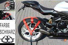 Motorrad Hinterrad Gurt Abspanngurt Zurrgurt Spanngurt Transport Qualität black
