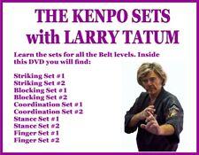 KENPO striking blocking coordination stance finger sets DVD karate