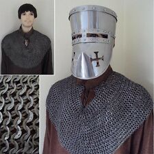 Bishops Mantle Wedge Riveted Flat Rings Chainmail Armour Re-Enactment LARP. SALE