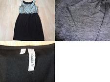 Women's Studio Y L Grey & Black Dress Inside Lining