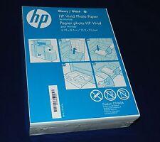 "200 Sheets HP Vivid 6.25"" x 8.25"" (16 x 21.6cm) Glossy Photo Paper P/N: CG940A"