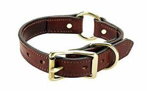 Mendota Pet Standard Dog Collar, 1-Inch by 14-Inch, Chestnut