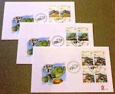Greenland Post Official FDC 2009.10.19. Science & Techonolyg V - Blocks of Four