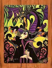 "Disney Tin Sign ""Maleficent Sleeping Beauty"" Art Ride Movie Poster"
