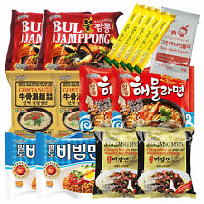 K-Foods Korean Noodle Ramen Variety Pack, Tteokbokki Sauce, Coffee Mix (15 Pcs)