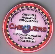 Chequers On Line Magazine Of Casino Collectables Chipco Advertising Chip 2000