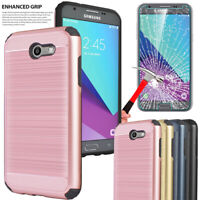 For Samsung Galaxy J7 Sky Pro/J7 Prime/V/Perx Phone Case With Screen Protector